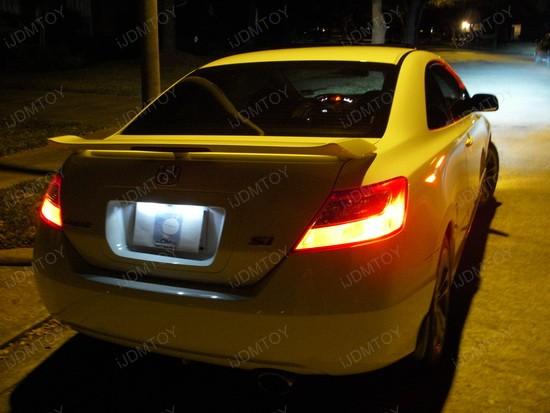 Honda - Civic - LED - license - plate - lights - 1